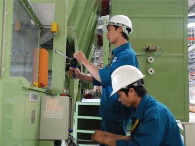 Dịch vụ bảo trì điện được thực hiện bởi đội ngũ nhân viên giàu kinh nghiệm