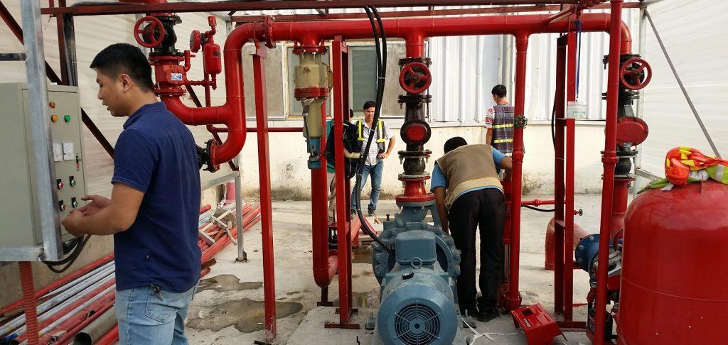 Bảo trì hệ thống PCCC uy tín từ công ty Sơn Hà