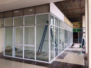 Dịch vụ bảo trì vách kính tại Sơn Hà